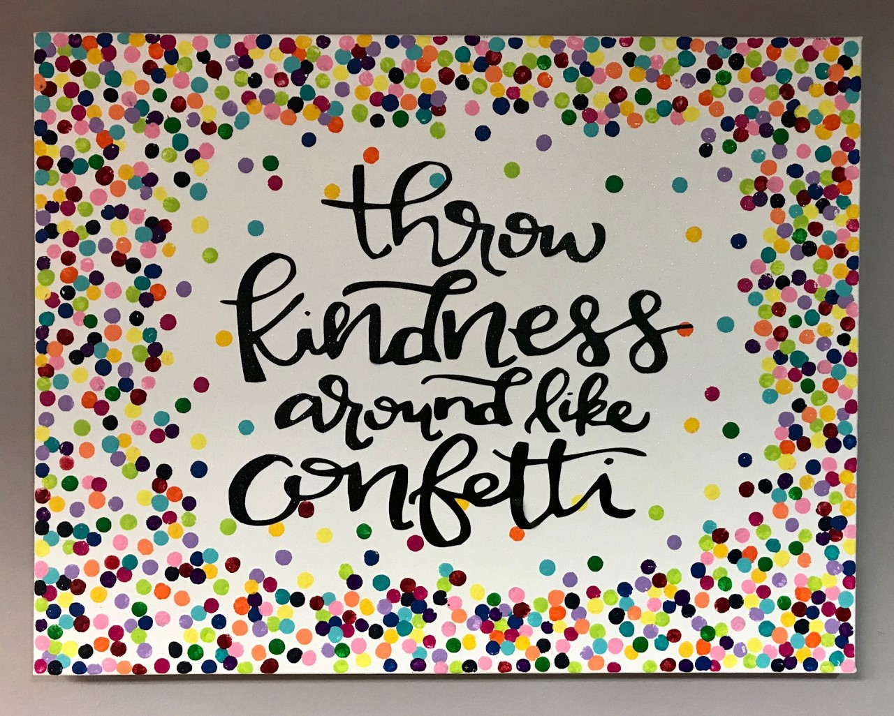 Kindness Canvas
