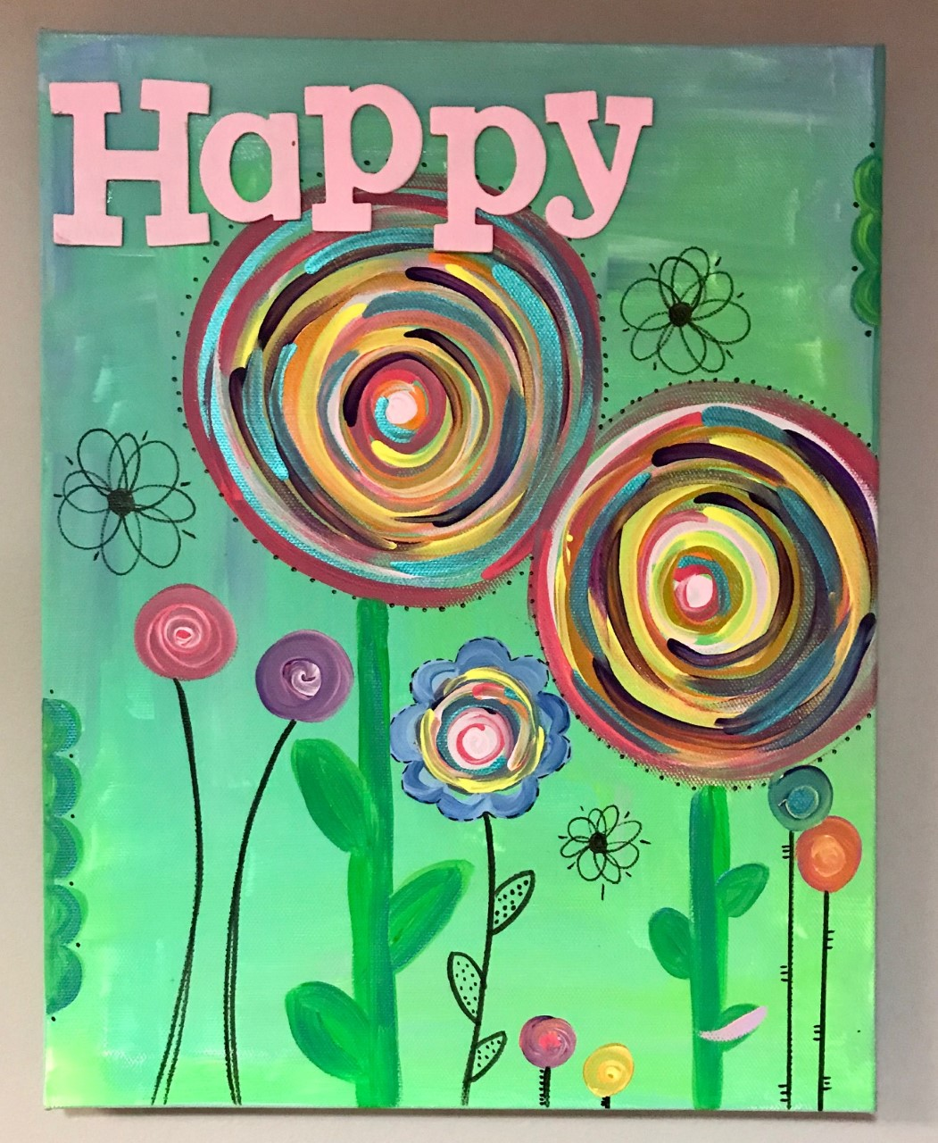 Happyness Canvas